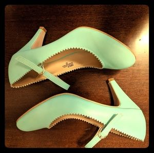Mint mary janes worn once!